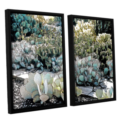Botanical Garden 2-pc. Floater Framed Canvas WallArt