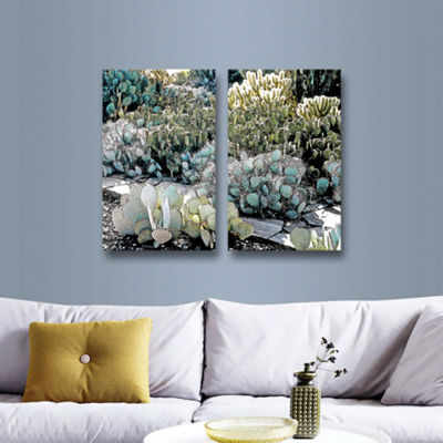 Botanical Garden 2-pc. Gallery Wrapped Canvas WallArt