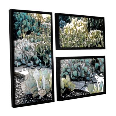 Botanical Garden 3-pc. Flag Floater Framed CanvasWall Art