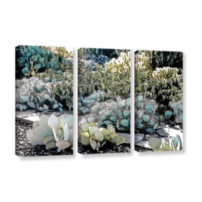 Botanical Garden 3-pc. Gallery Wrapped Canvas WallArt
