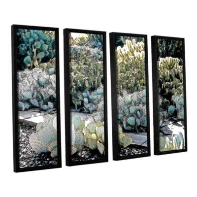 Botanical Garden 4-pc. Floater Framed Canvas WallArt