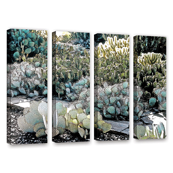 Botanical Garden 4-pc. Gallery Wrapped Canvas Wall Art