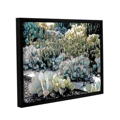 Botanical Garden Gallery Wrapped Floater-Framed Canvas Wall Art