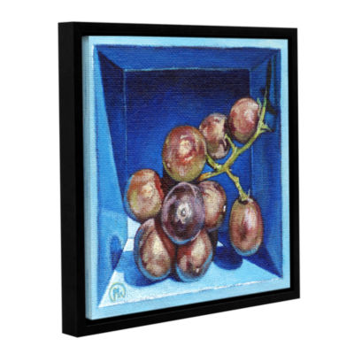 Brushstone Boxed Bunch Gallery Wrapped Floater-Framed CanvasWall Art