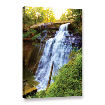 Brushstone Brandywine Falls Gallery Wrapped CanvasWall Art