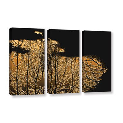 Break In The Storm 3-pc. Gallery Wrapped Canvas Wall Art