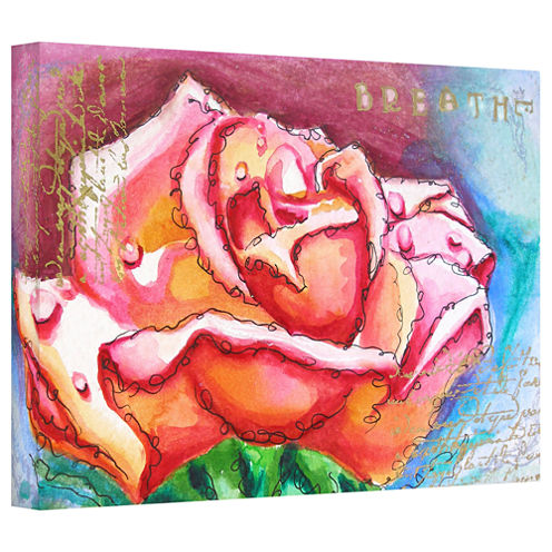 Breathe Gallery Wrapped Canvas Wall Art