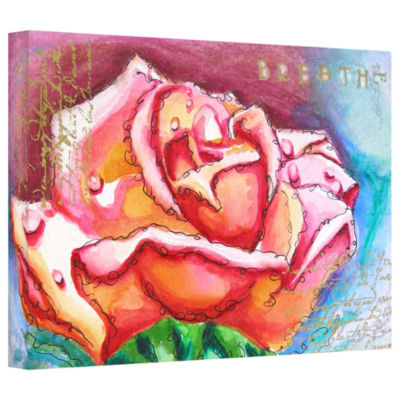 Brushstone Breathe Gallery Wrapped Canvas Wall Art