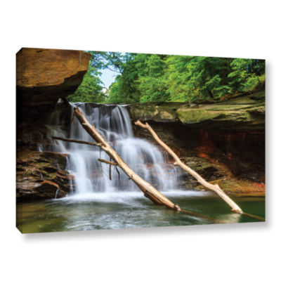 Brushstone Brecksville Falls Gallery Wrapped Canvas Wall Art