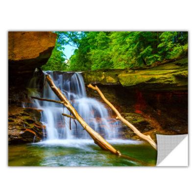 Brushstone Brecksville Falls Removable Wall Decal