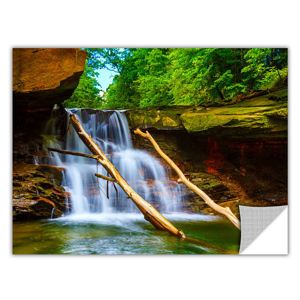 Brushstone Brecksville Falls Removable Wall Decal