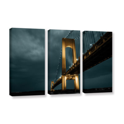 Bridge 3-pc. Gallery Wrapped Canvas Wall Art
