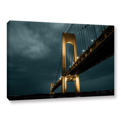 Brushstone Bridge Gallery Wrapped Canvas Wall Art