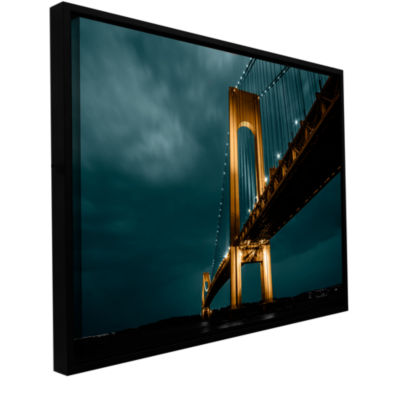Bridge Gallery Wrapped Floater-Framed Canvas Wall Art