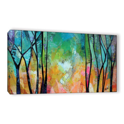 Brushstone Bright Skies For Dark Days Ii Gallery Wrapped Canvas Wall Art