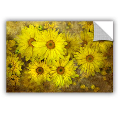 Bright Sunflowers Removable Wall Decal