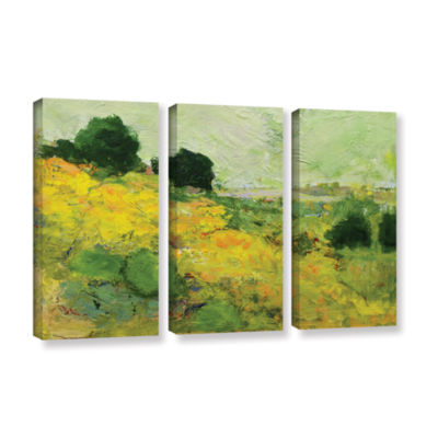 Brushstone Brighton 3-pc. Gallery Wrapped Canvas Wall Art