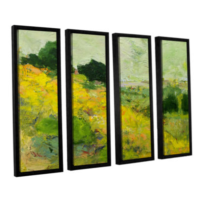 Brushstone Brighton 4-pc. Floater Framed Canvas Wall Art