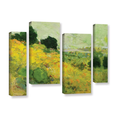 Brushstone Brighton 4-pc. Gallery Wrapped Staggered Canvas Wall Art