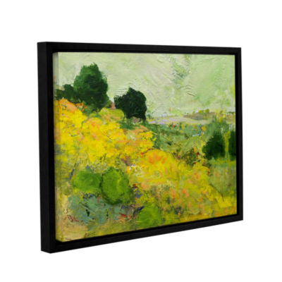 Brushstone Brighton Gallery Wrapped Floater-FramedCanvas Wall Art