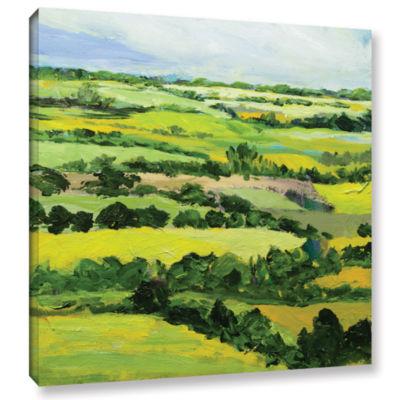 Brushstone Brightwalton Green Gallery Wrapped Canvas Wall Art