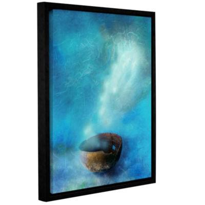 Brushstone Broken Bowl Gallery Wrapped Floater-Framed CanvasWall Art