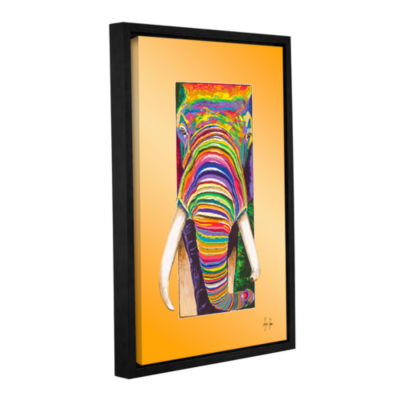 Breaking Through Gallery Wrapped Floater-Framed Canvas Wall Art