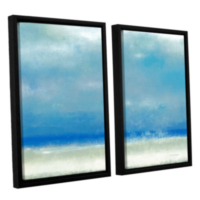 Blue Horizon 1 2-pc. Floater Framed Canvas Wall Art