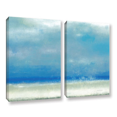 Blue Horizon 1 2-pc. Gallery Wrapped Canvas Wall Art