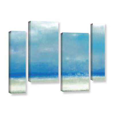 Blue Horizon 1 4-pc. Gallery Wrapped Staggered Canvas Wall Art