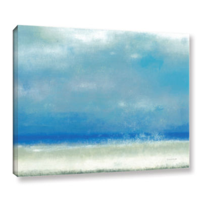 Blue Horizon 1 Gallery Wrapped Canvas Wall Art
