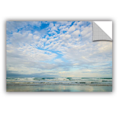 Brushstone Bright Clouds Removable Wall Decal