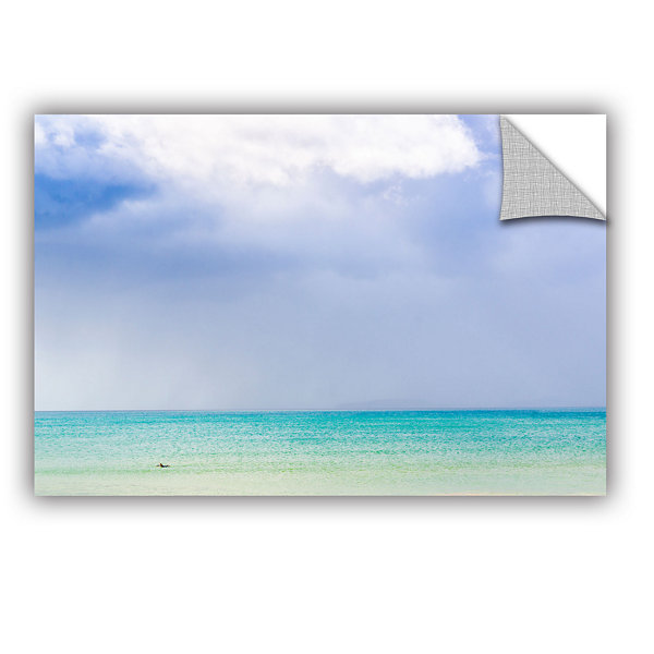 Blue Seascape Removable Wall Decal