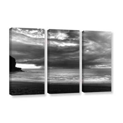 Boat On The Horizon 3-pc. Gallery Wrapped Canvas Wall Art