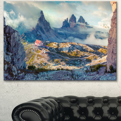 Designart Beautiful Lacatelli In National Park Large Landscape Canvas Art Print
