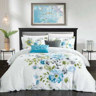 Belleville Garden Reversible Comforter Set