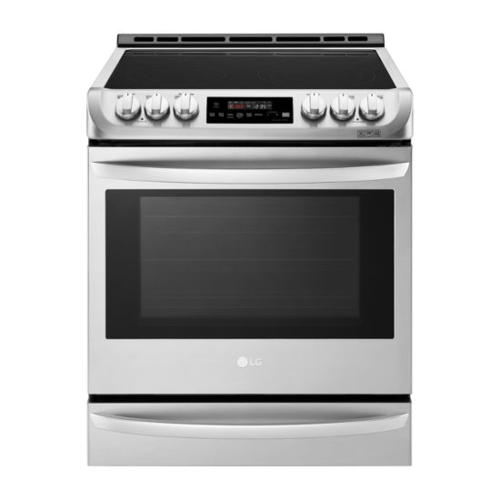 LG 6.3 cu. ft. Smart Wi-Fi Enabled Electric Single Oven Slide-in Range with ProBake Convection® and EasyClean®