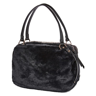Latique Fur-Tastic Satchel
