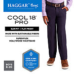 Hagga Boys Slim Tapered Flat Front Pant