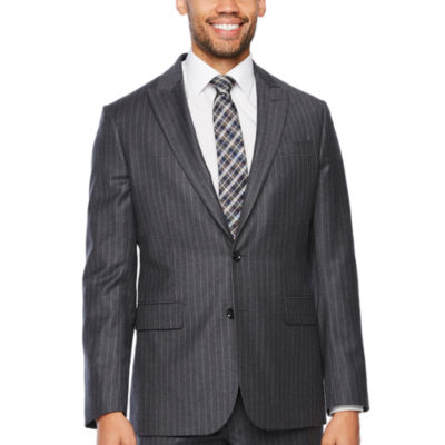 Stafford Executive Super 100 Striped Classic Fit Suit Jacket