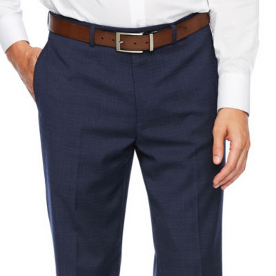 Collection by Michael Strahan  Collection By Michael Strahan Plaid Classic Fit Stretch Suit Pants