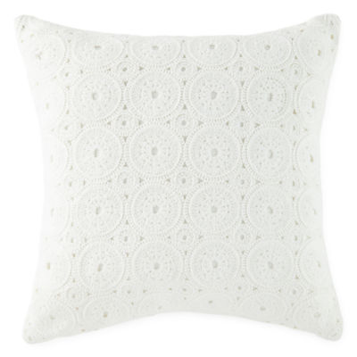 JCPenney Home Knife Edge Square Throw Pillow