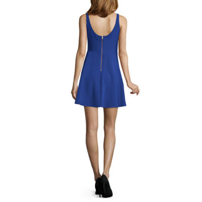 Jump Apparel Holiday Sleeveless Party Dress-Juniors