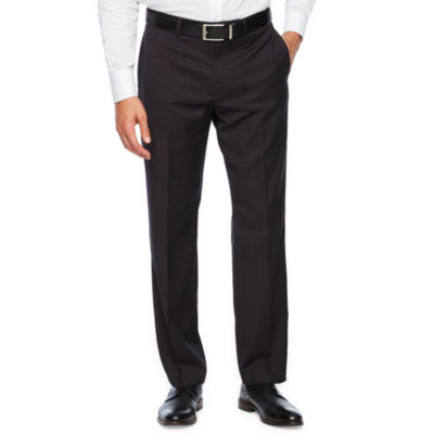 Collection By Michael Strahan Plaid Slim Fit Stretch Suit Pants