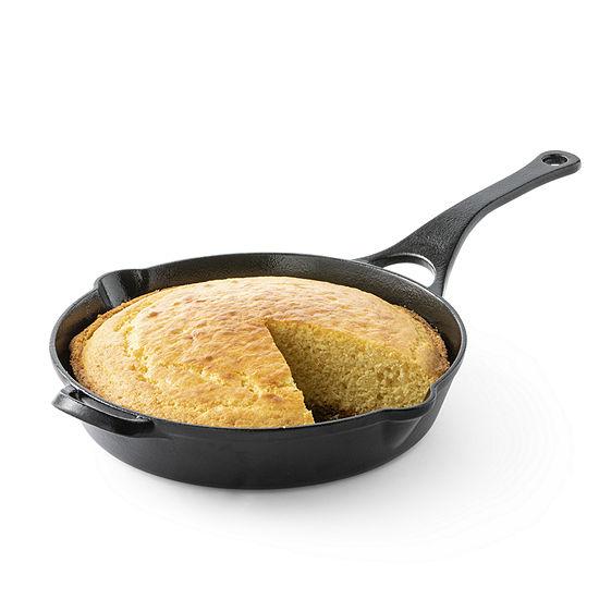 "Cooks Signature Preseasoned 10"" Cast Iron Skillet"
