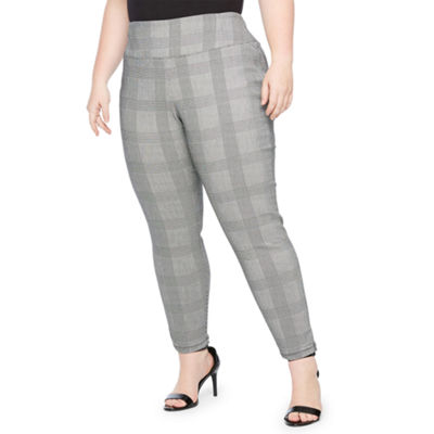 Worthington Skinny Fit Pull on Pants - Plus