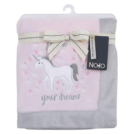 Nojo Unicorn Baby Blanket Blanket Unisex