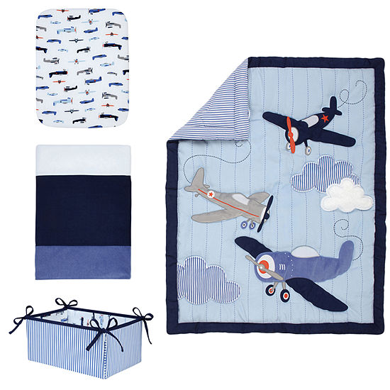 Carter's Take Flight 4-Pc. Crib Set 4-pc. Crib Bedding Set