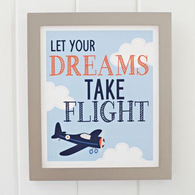 Carter's Take Flight Framed Art Decor Kits