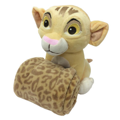 Disney Lion King Plush Toy With A Blanket Stuffed Animal
